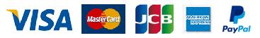 VISA MasterCard JCB AERICAN EXPRESS
